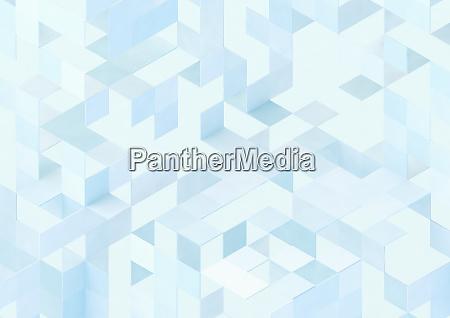 teste padrao tridimensional complexo do cubo