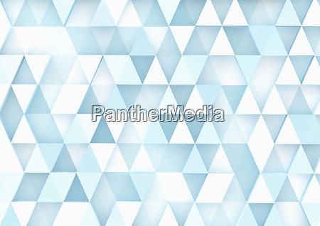 padrao de triangulo tridimensional