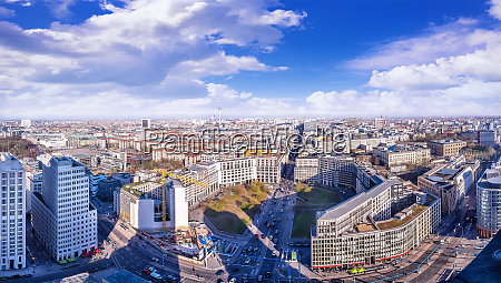 vista panoramica no centro da cidade