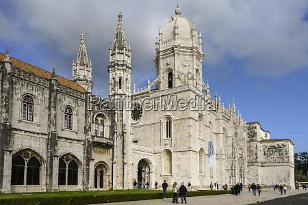 jeronimos monastery lisbon lisboa region portugal