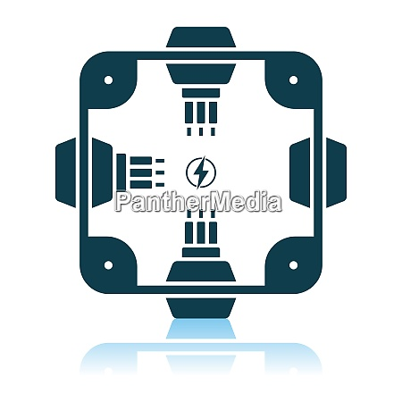 electrical junction box icon