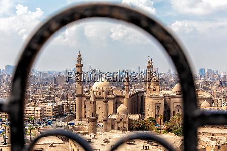 vista na mesquita madrasa do sultao