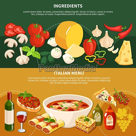 italiano minestrone sopa bruschetta lasanha comida