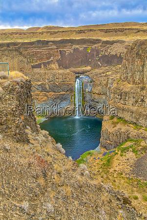 usa washington state palouse falls waterfall