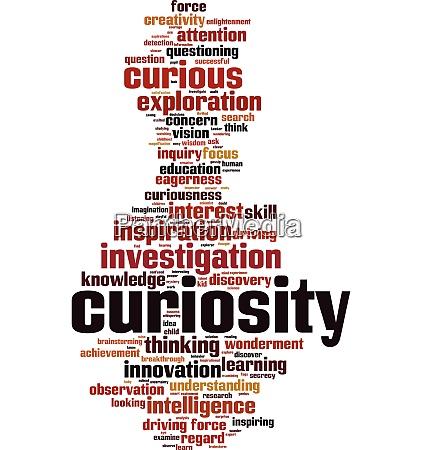 curiosity, word, cloud - 27408663