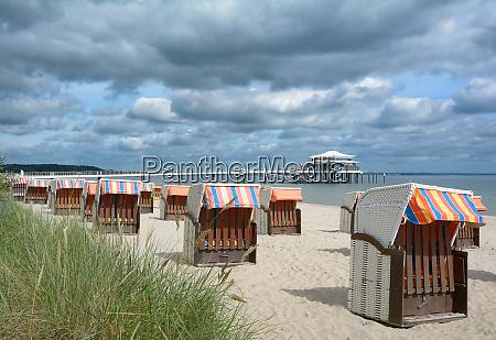praia de timmendorfer strand no mar
