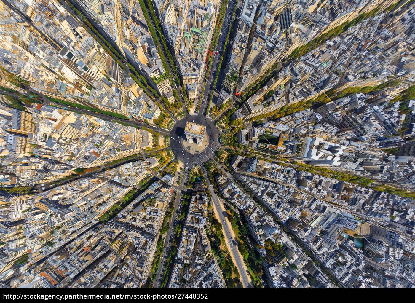 vista, aérea, acima, do, arco, de - 27448352