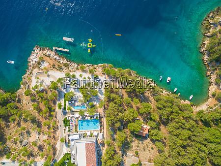 vista aerea do resort
