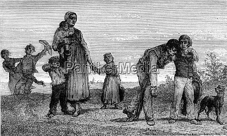 1870 exposicao de pintura intemperanca gravura