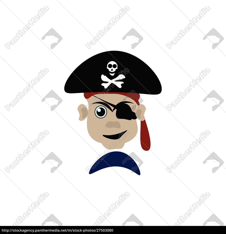 um, vetor, perigoso, do, pirata, ou - 27503080
