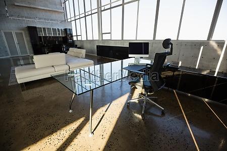 interior do escritorio criativo moderno