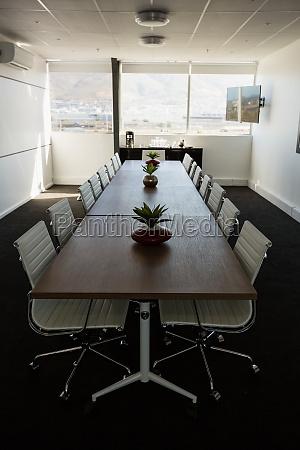 sala de reuniao moderna no escritorio