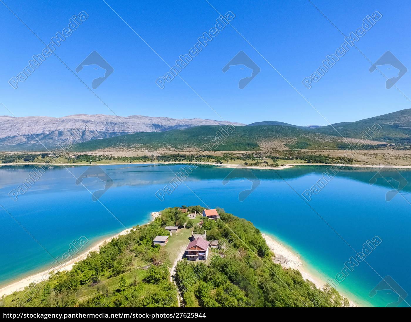 vista, aérea, do, lago, peruca, segundo, maior - 27625944