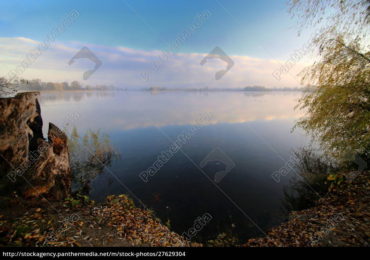 na, margem, do, lago, erlich, perto - 27629304