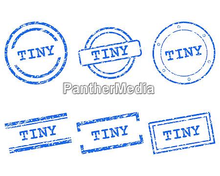 selos minusculos