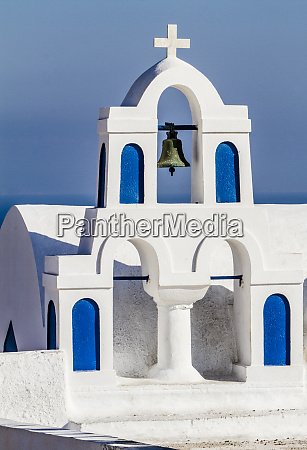oia greece greek orthodox church steeple