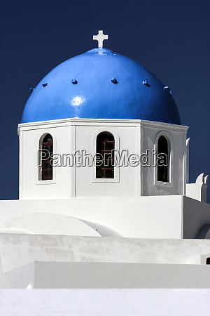 oia island of santorini greece blue