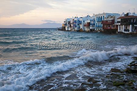 grecia mykonos pequena veneza