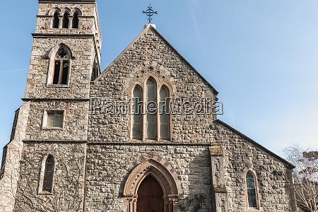 detalhe arquitetonico da igreja anglicana de