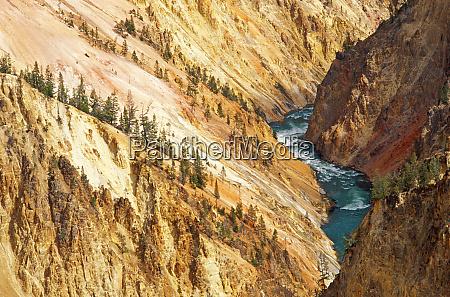 o, rio, yellowstone, e, canyon, de - 27983511