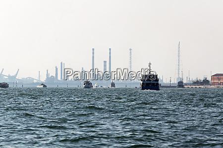 industria da lagoa veneziana