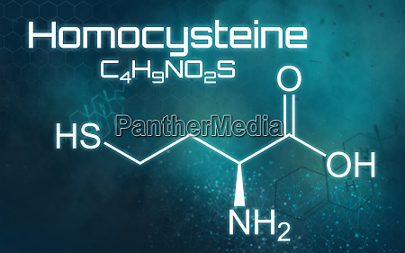 formula quimica da homocisteina em um