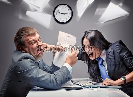 luta de escritorio