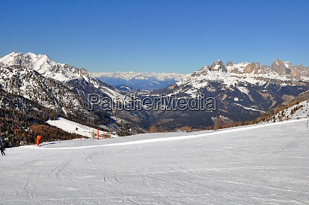 esquiando, no, tyrol, de, southern - 28131859