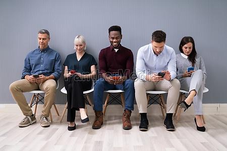 candidatos, que, usam, celulares - 28135135