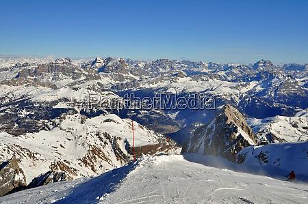 esquiando, no, tyrol, de, southern - 28140831