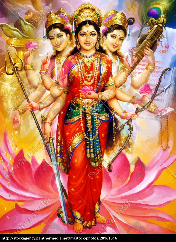 deus, saraswati, jogo, espiritual, veena, cultura - 28161516