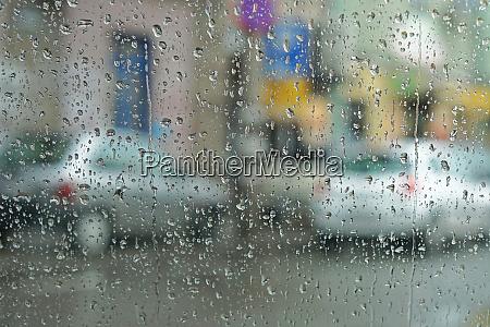 rainy day abstract