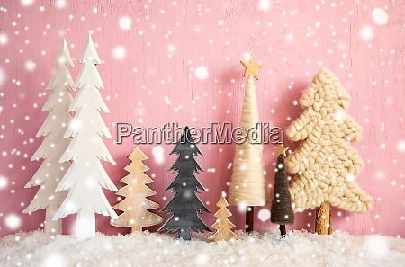 Arvores de natal neve fundo de