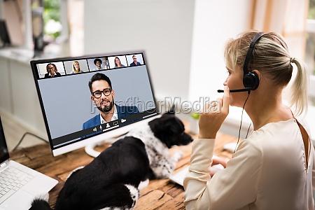 videoconferencia webinar call