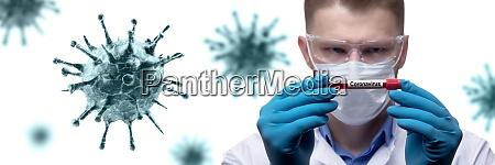 jovem medico contra novo coronavirus 2019