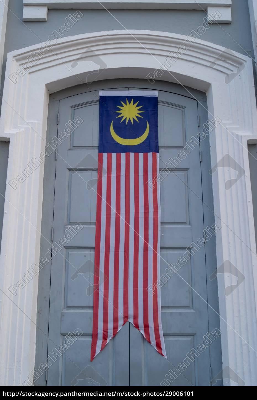 bandeira, da, bandeira, da, malásia, na - 29006101