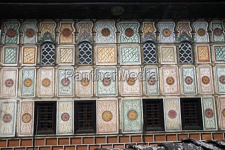 mesquita pintada de aladza tetovo macedonia