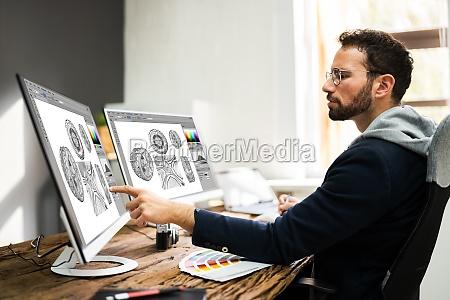 fotos de edicao de designers