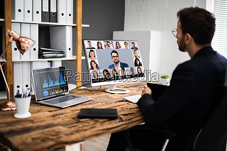 online, video, conference, interview, meeting - 29021082