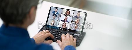 videoconferencia elearning webinar call