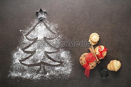 biscoitos, de, natal - 29083267
