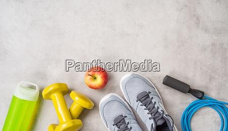 equipamentos de esporte e fitness com