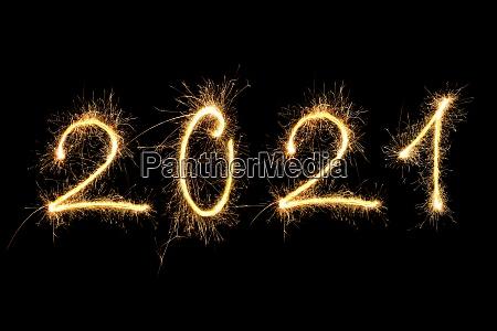 feliz, ano, novo, 2021. - 29098151