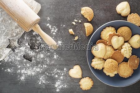 cozimento de biscoitos