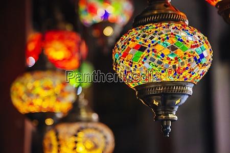 arte islamica lanterna