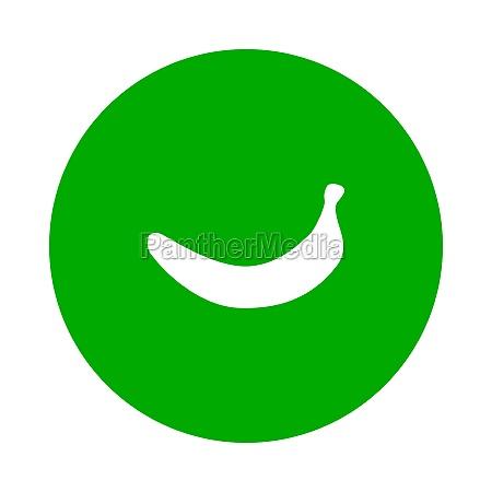 banana e circulo