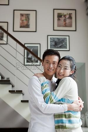 um par de casal intimo
