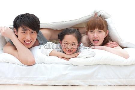 familia de tres vidas felizes