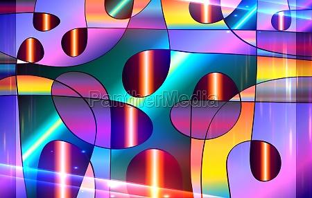 cor e luz