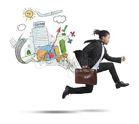 businessman, always, traveling - 29836765